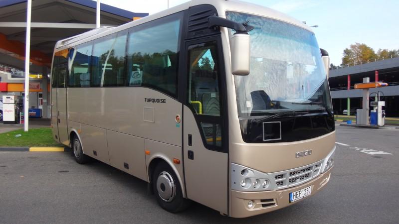 Kelionės autobusu į Klaipėdą