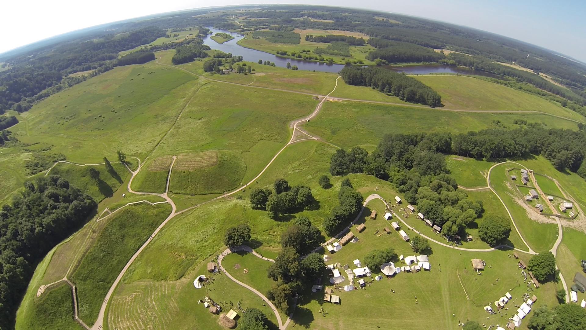Gyvosios archeologijos dienos Kernavėje 2016-07-(08-10)
