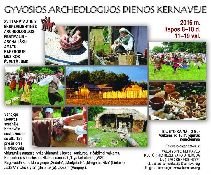 Gyvosios archeologijos dienos Kernaveje