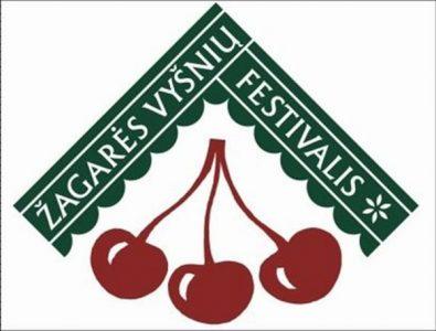 Zagares vysniu festivalis logotipas
